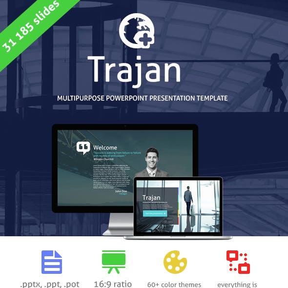 Trajan Powerpoint Presentation Template