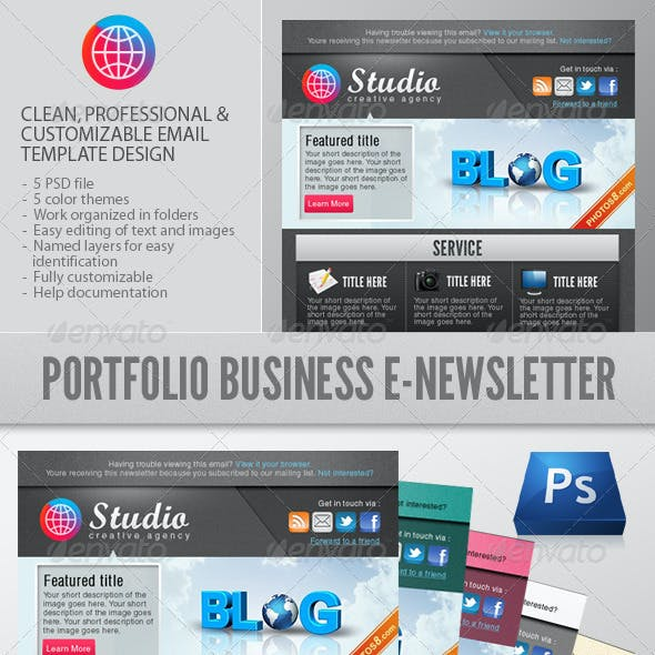 Portfolio Business E-Newsletter