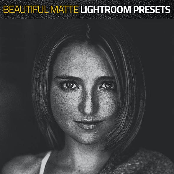 Beautiful Matte Lightroom Presets