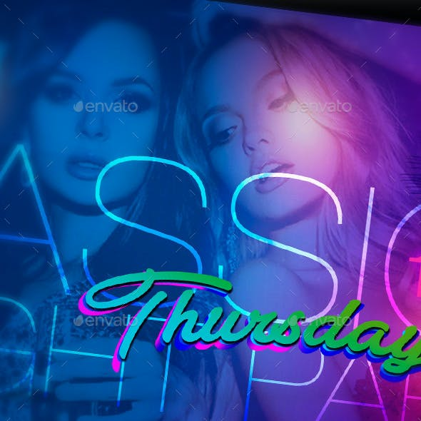 Flyer Passion Night Party Thursdays