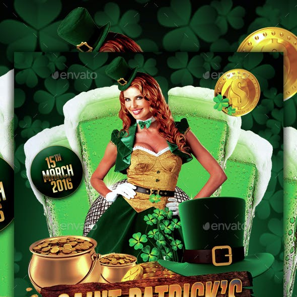 Saint Patrick's Day Party Flyer