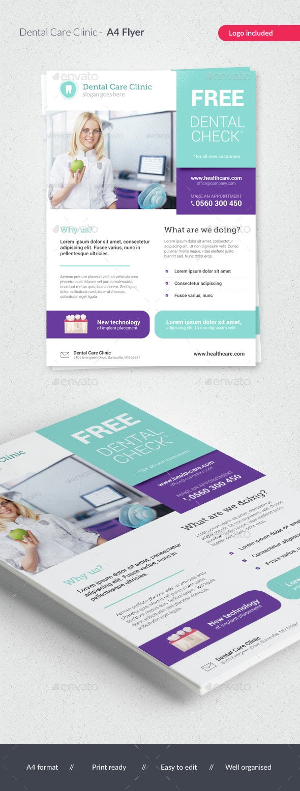 Dental Care / Medical Flyer - Corporate Flyers