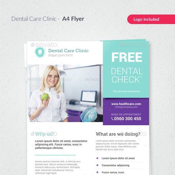 Dental Care / Medical Flyer