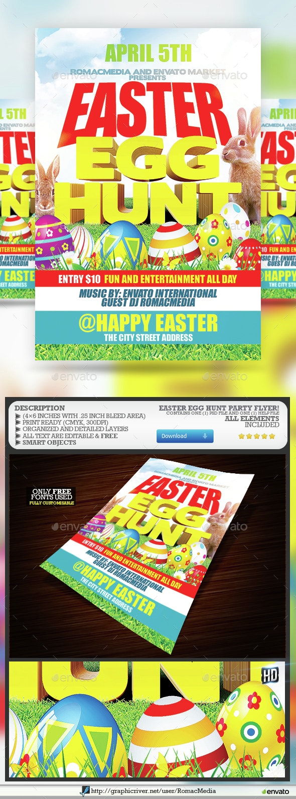 Easter Egg Hunt Party  - Clubs & Parties Events