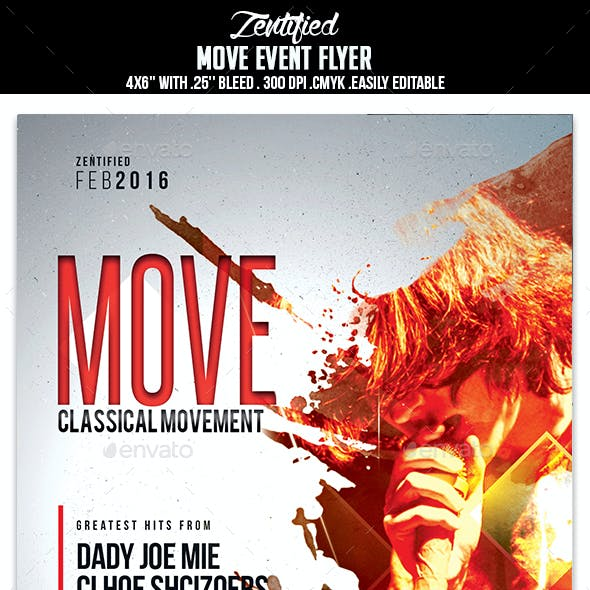 Move Event Flyer