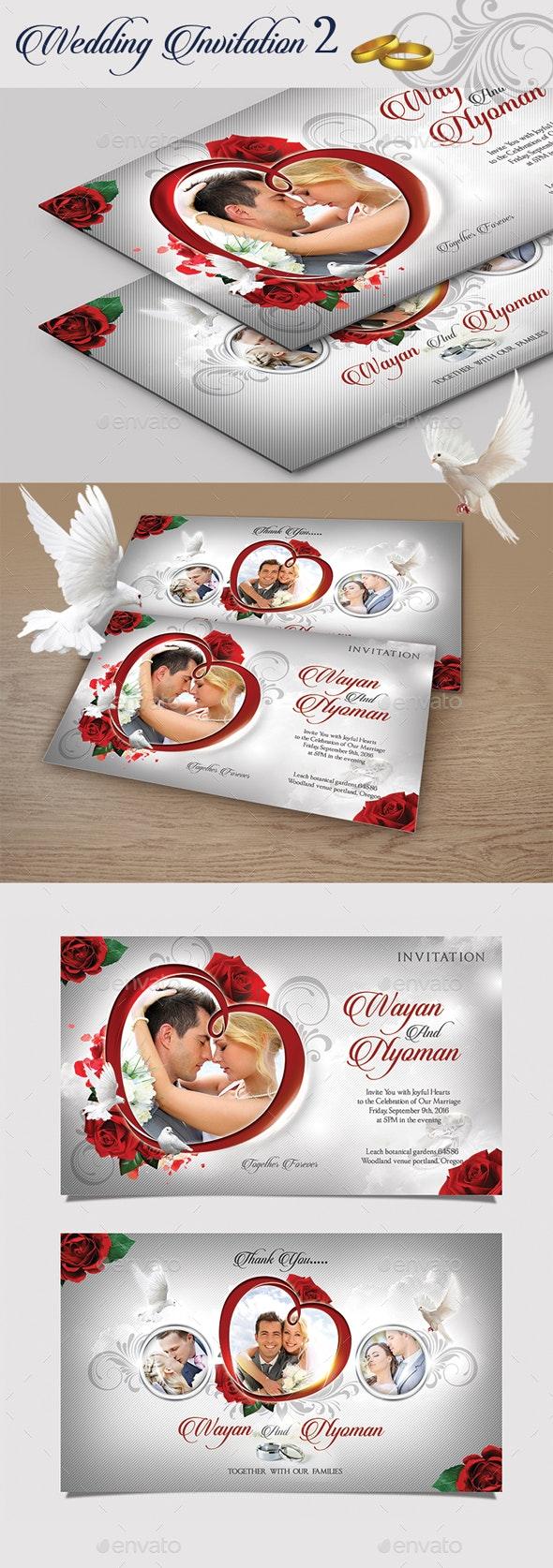 Wedding Invitation II - Invitations Cards & Invites