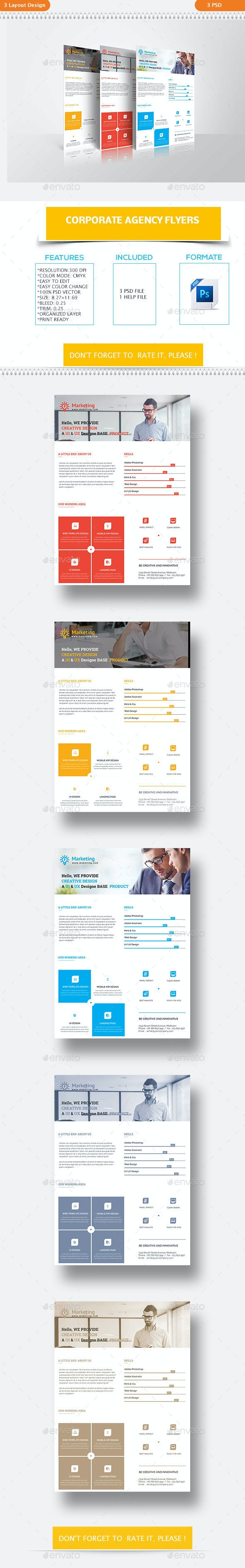 Corporate Agency Flyers - Corporate Flyers