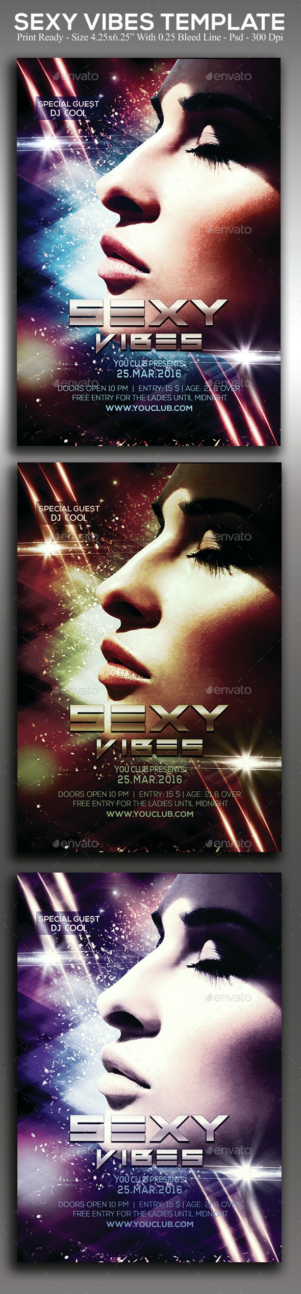 Sexy Vibes - Clubs & Parties Events