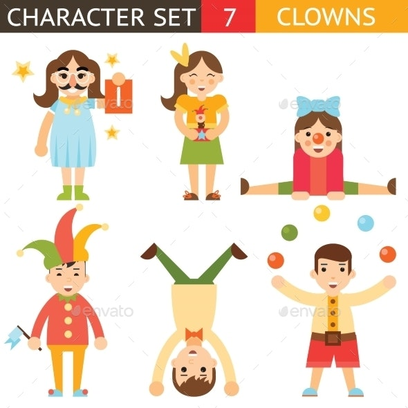 Clown April Fools Joke Characters - People Characters