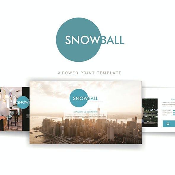 Snowball PowerPoint Template