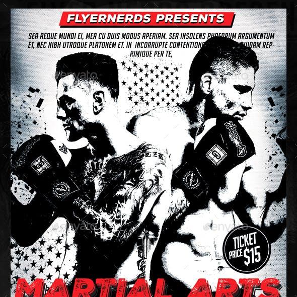 Martial Arts Championship Sports Flyer