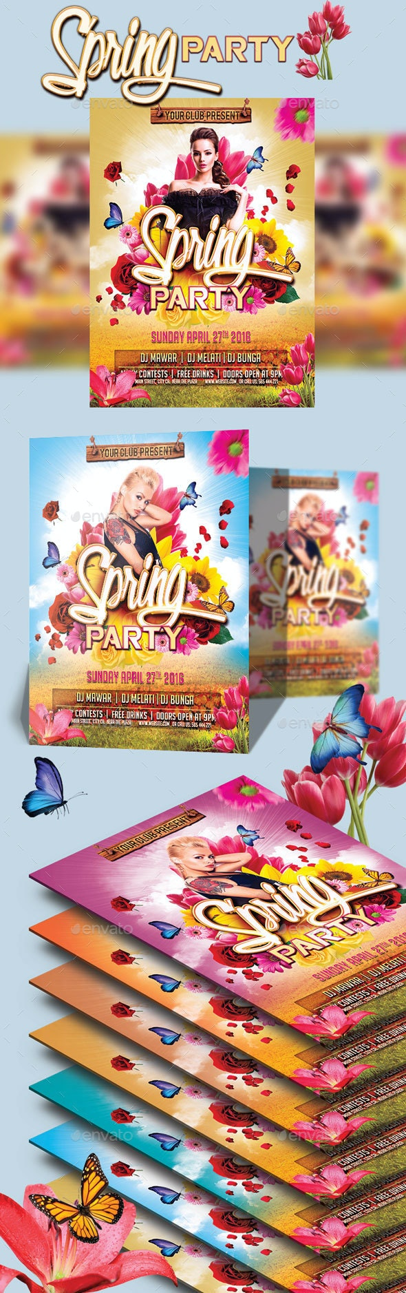 Spring Party  - Clubs & Parties Events