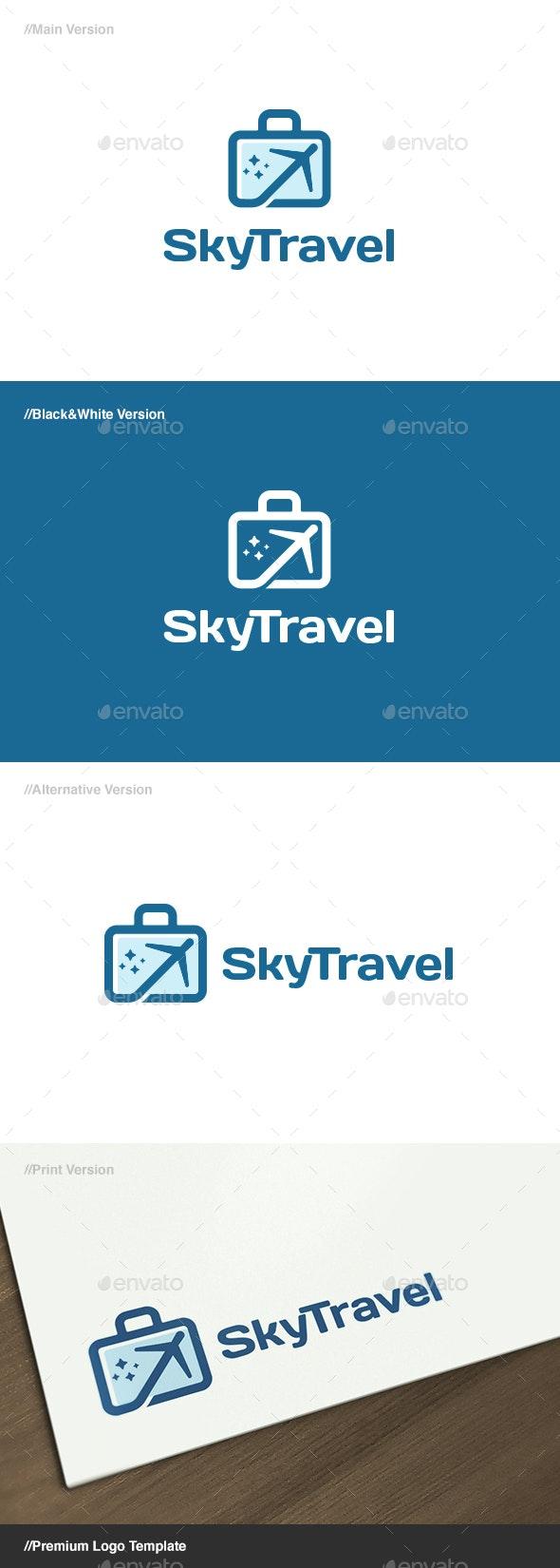 Sky Travel Logo - Objects Logo Templates