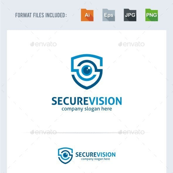 Secure Vision Logo Template
