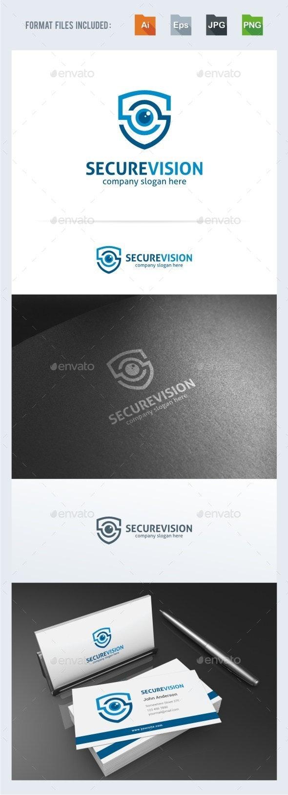 Secure Vision Logo Template - Symbols Logo Templates