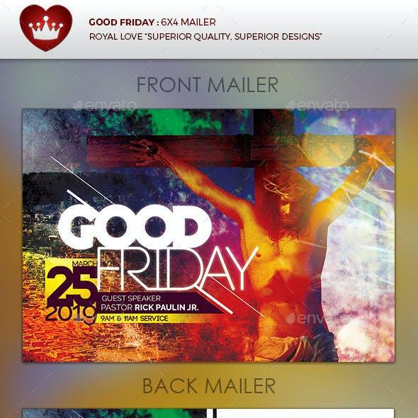 Good Friday Church Mailer
