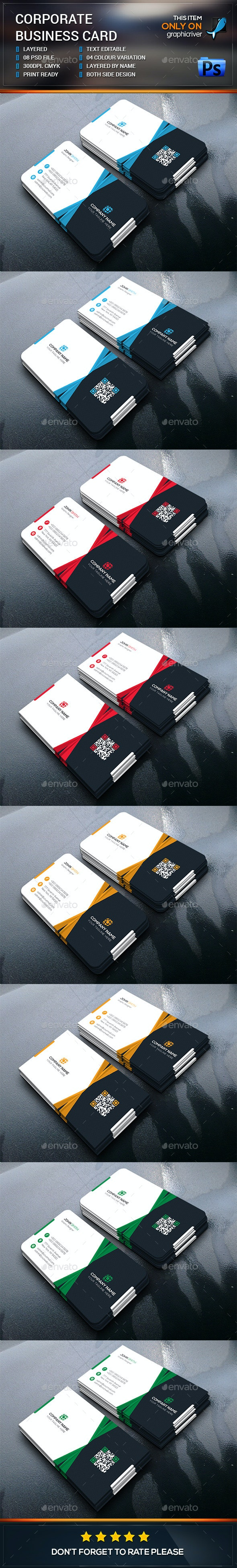 Corporate Business Card Design - Corporate Business Cards