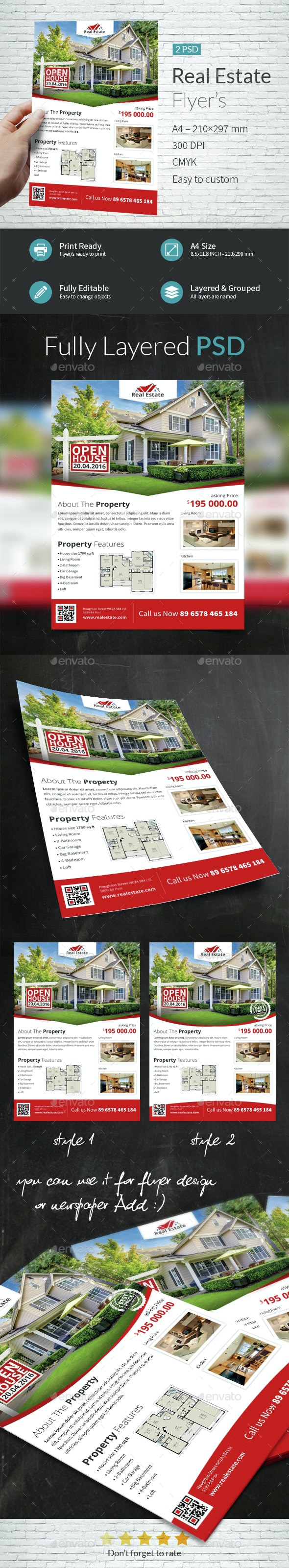 Real Estate Company Flyer Templates - Commerce Flyers