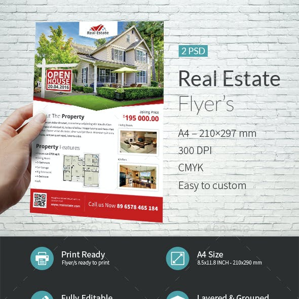 Real Estate Company Flyer Templates