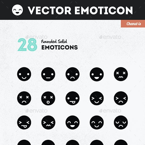 28 Emoticons pack
