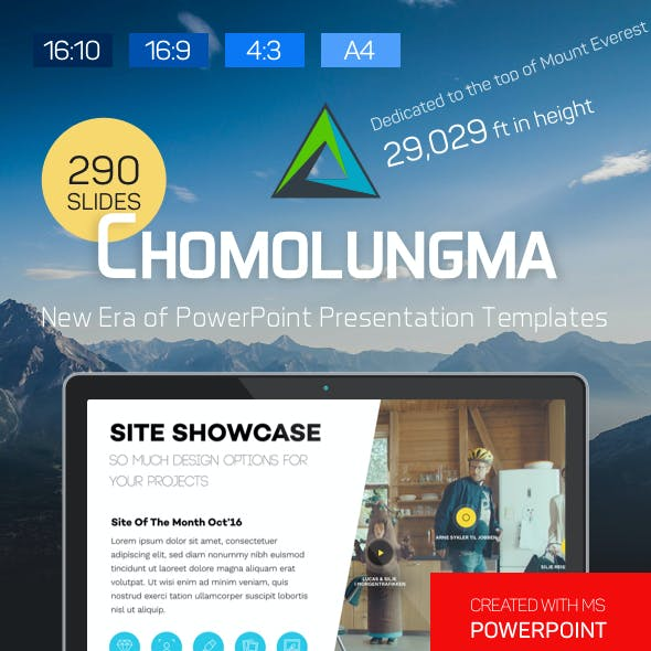 Chomolungma — PowerPoint Presentation Template Kit