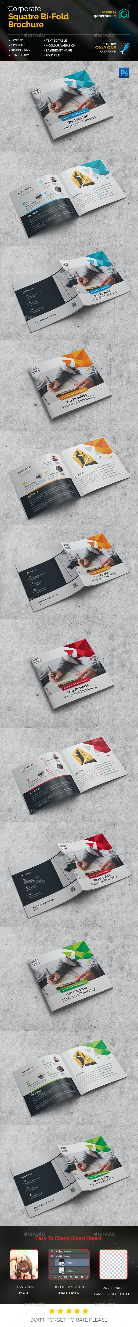 Pro_Square Bi-Fold Brochure - Corporate Brochures