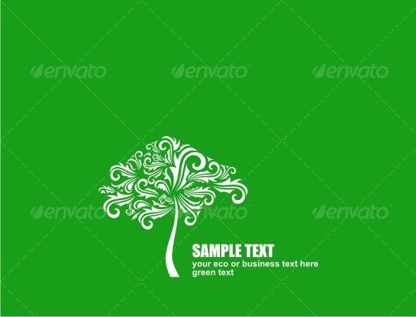 Eco concept design - Backgrounds Decorative