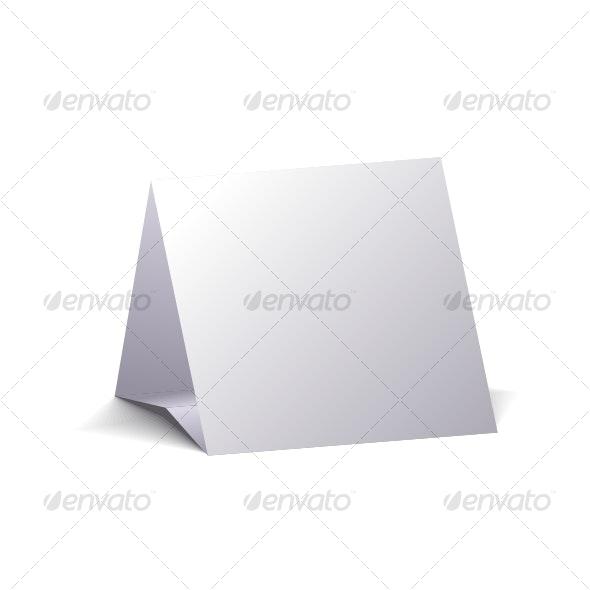 Blank calendar. - Decorative Symbols Decorative