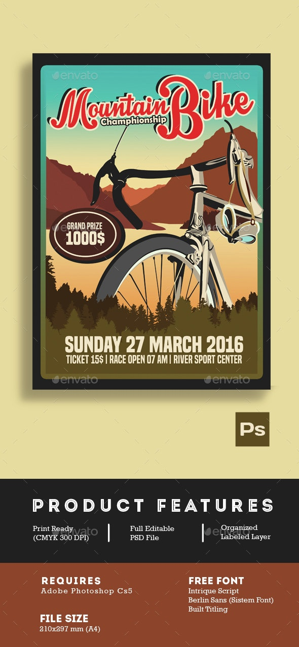 Mountain Bike Championship - Sports Events