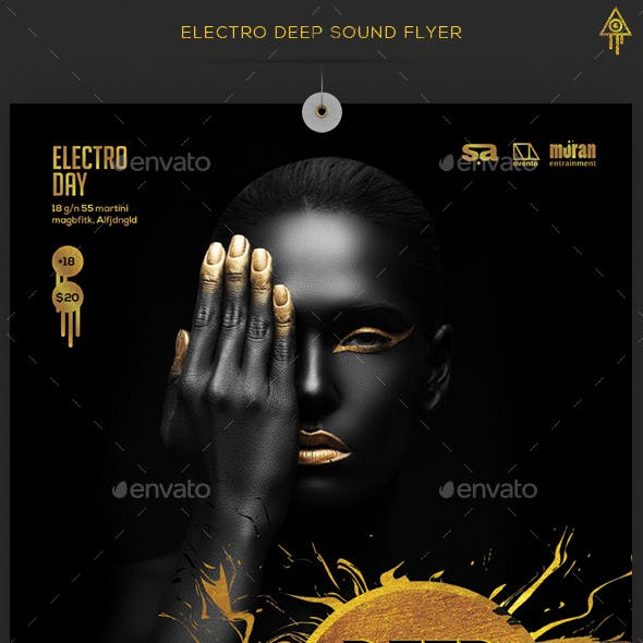 Electro Deep Sound Flyer