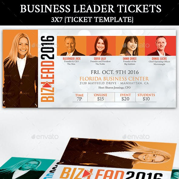 Business Leader Ticket