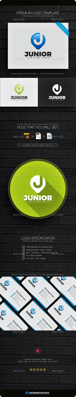 Junior - Letter J Logo - Letters Logo Templates