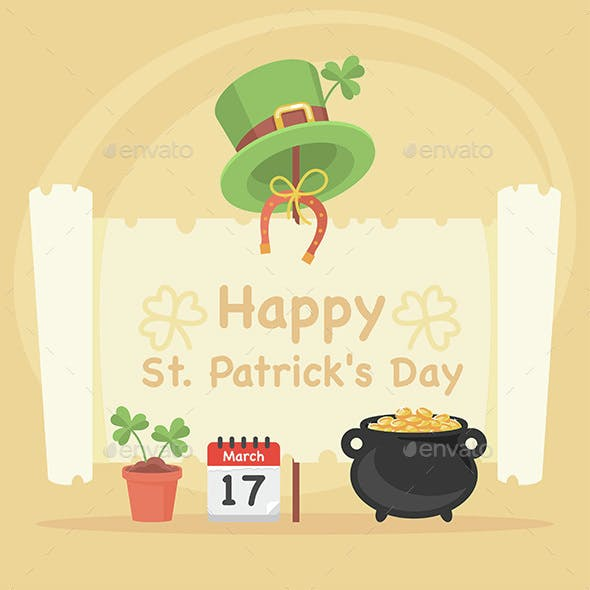 Concept Illustration St. Patrick's Day