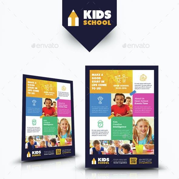 Kids School Bundle Templates
