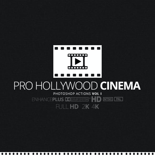 Pro Hollywood Cinema Vol 1 Photoshop Action
