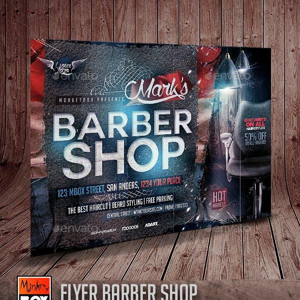 Flyer Barber Shop