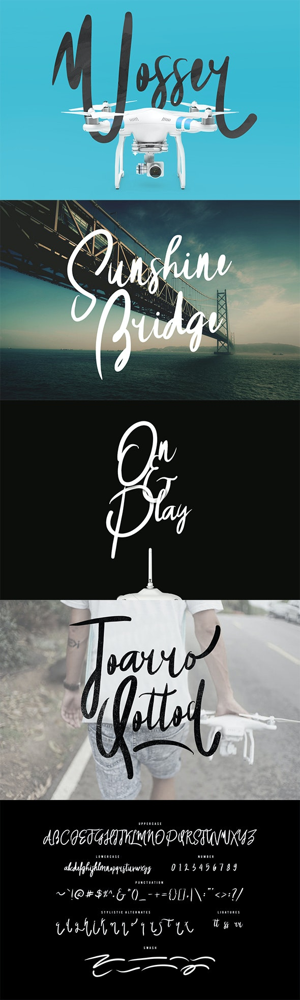 Wosser Typeface - Holiday Decorative