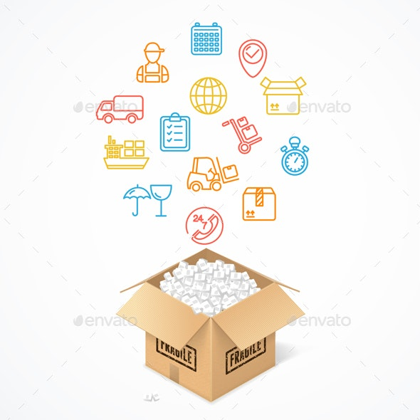 Delivery Concept - Services Commercial / Shopping