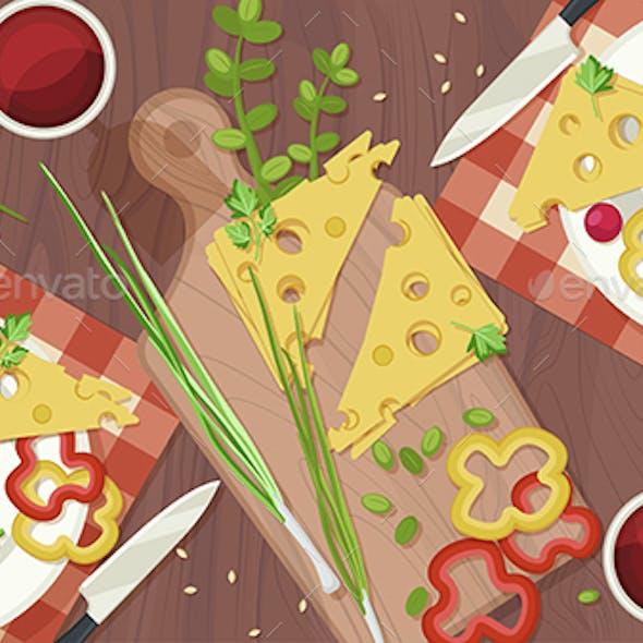 Fresh Food Illustration