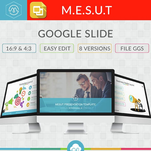 Mesut Google Slide Template