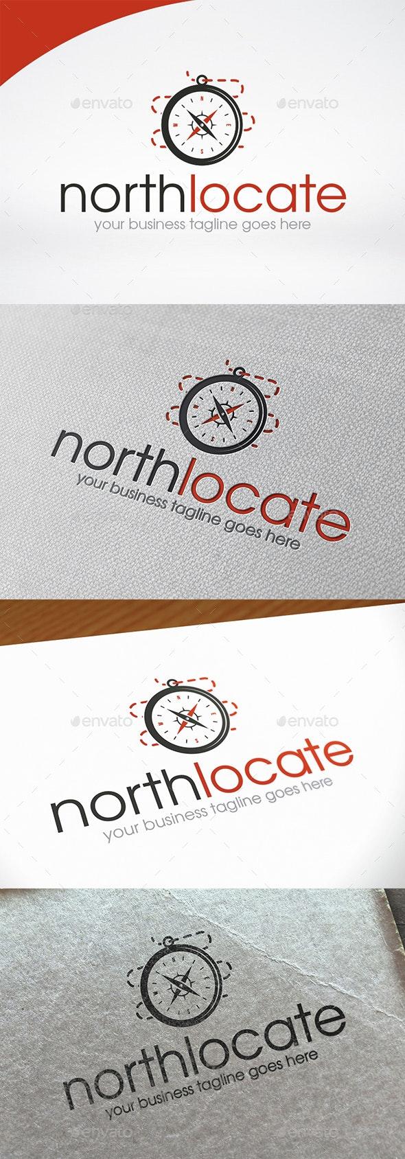 North Compass Logo Template - Symbols Logo Templates
