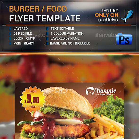 Burger/Food Flyer