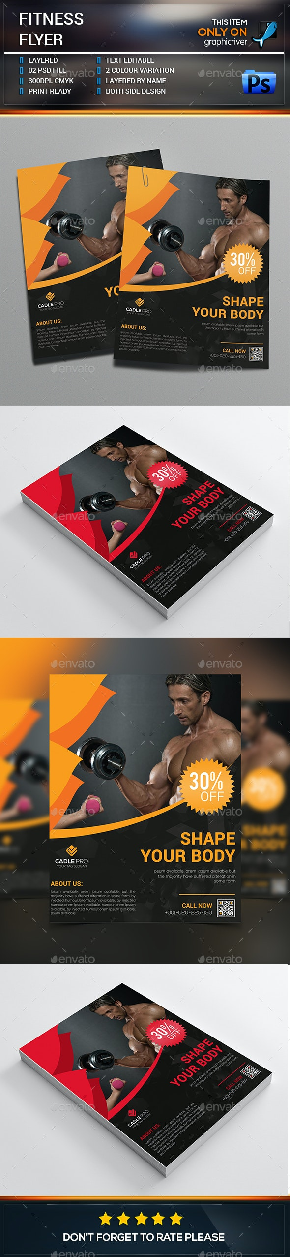 Fitness Business Flyer - Corporate Flyers