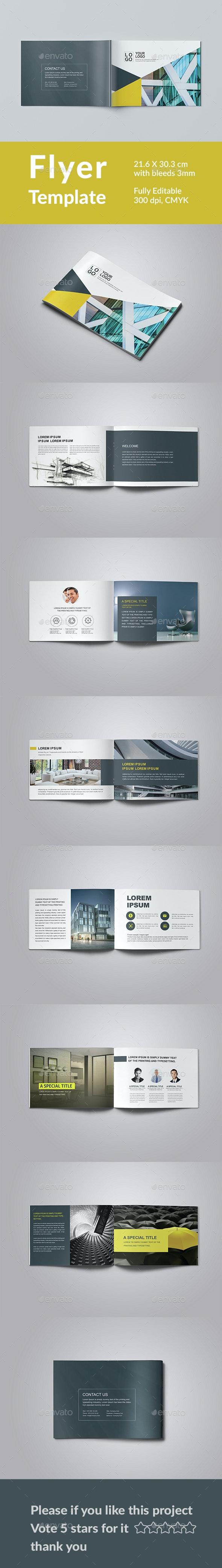 Corporate Brochure Template - Magazines Print Templates