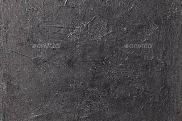 Grungy Dark Concrete Texture Wall - Stone Textures
