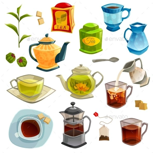 Types of Tea Set