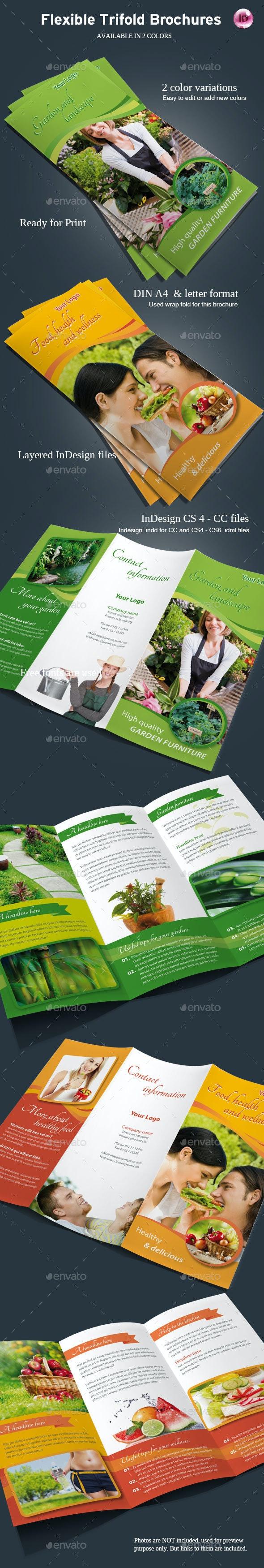 Flexible TriFold Brochure - Corporate Brochures