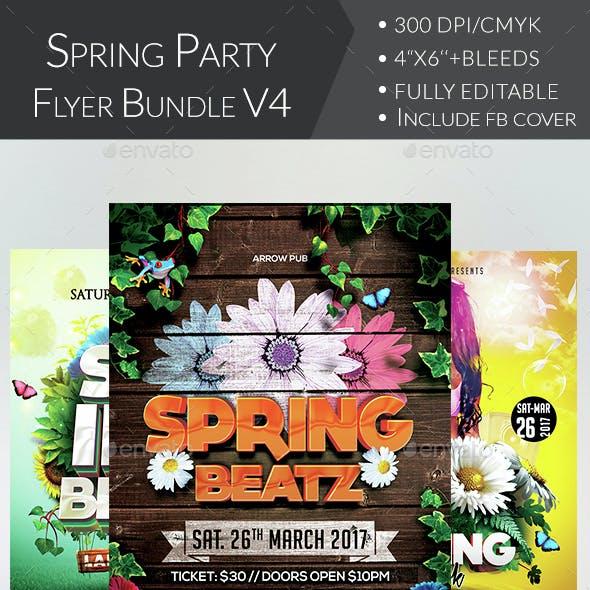 Spring Flyer Bundle V4