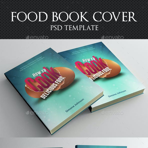 Cook Food Book Cover Template