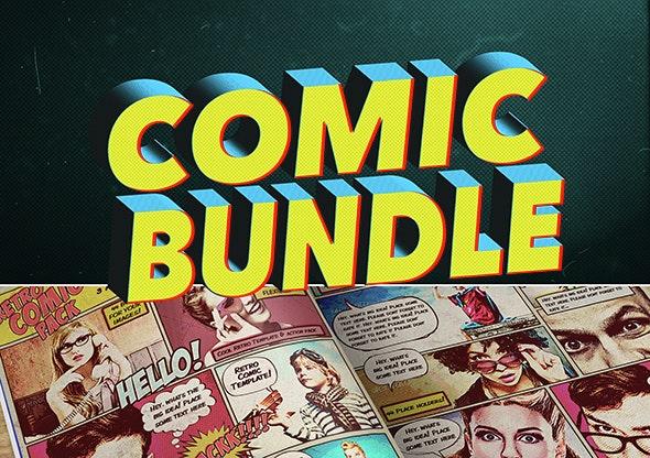 Comic Bundle - Photoshop Add-ons